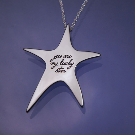 Silver jewelry with romantic messages engraved sterling silver necklace aloadofball Choice Image